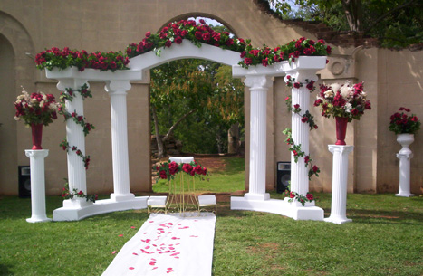 decorative columns for weddings wedding column rentals seattle tacoma 3452